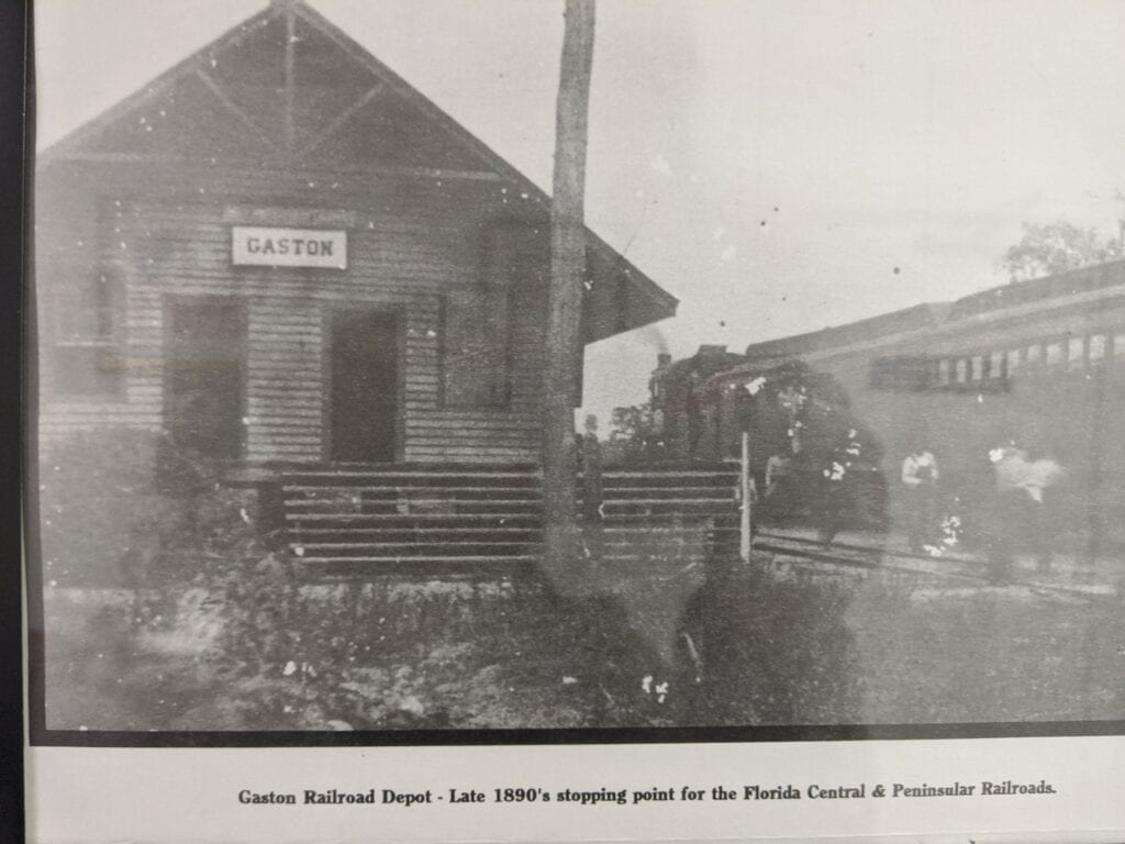 Gaston Railroad Station